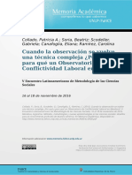 ev.8400 observatorio de conflictividad laboral