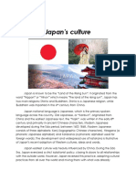 summary of japan's culture and traditions.docx