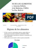 Salud Ambiental Alimentos