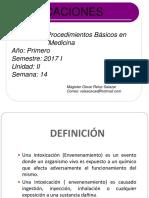 CLASE 14 intoxicaciones pbm 2017.ppt