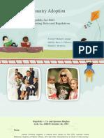 Inter-country adoption