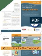 Como Se Determina El Valor de La Factura Del Servicio de Energa Elctrica- CREG