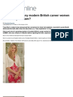 Why ARE so many modern British career women converting to Islam