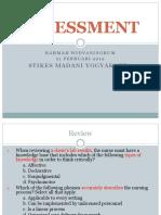 2. Assessment