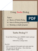 Using Turbo Prolog