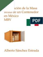 Verificación de La Masa Bruta de Un Contenedor en Mexico