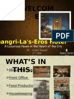 Shangri LA Ppt