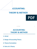 Accounting Theory & Method, Godfrey Ch 2