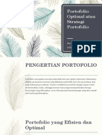 Portofolio Optimal atau Strategi Portofolio.pptx