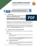 3.0. Especificaciones Tecnicas Gerson