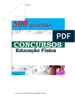 QUESTÕES DE EDUCAÇÃO FÍSICA PARA CONCURSOS 2019.pdf