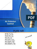 Air Pollution Control.. 1