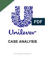 Unilever Case Analysis (2017).pdf
