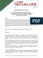 """[ARTIGO] - Gestão do projeto """"nas nuvens"""".pdf"""