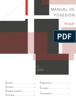 Manual de posesión Departamento