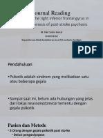 PPT Jurnal Reading Untuk Dr Agung