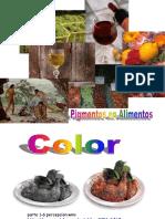 Pigmentos en Alimentos