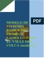 MODELO DE VIVIENDA BASICA DE PIEDRA Y LADRILLO PARA EL VALLE DEL COLCA.docx