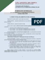 Structura Examen Licenta Pipp 2016