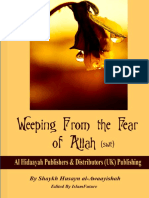 Weeping From the Fear of Allah - Swt