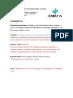 Modelo de Fichamento