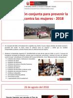 1. Plan Acción Conjunta 2018