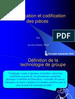 Classification Et Codification Des Pièces