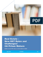Real Estate - Handbook on New GST Rates and Challenges - 1 April 2019 - CA Pritam Mahure