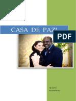 Agenda da IGREJA e  Casa de paz 2018