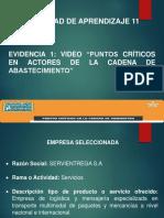 Presentacion Evidencia 1 Puntos Criticos