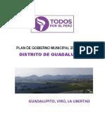 Plan de Gobierno Guadalupito 2019