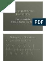 Física - Óptica - Equação de Onda Harmônica