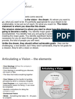 Vision Statements - a collection