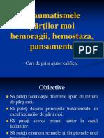 20.-Traumatismele-părților-moihemoragii-hemostaza-pansamente.ppt