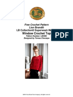 Windowpane Crochet Top (Crochet)