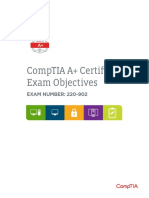 Comptia a 220 902 Exam Objectives