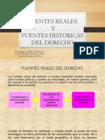 Fuentes Reales e Historicas