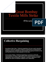 Bombay Textiles Mill Case