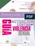 Guía de Actuación contra la Violencia Sexual