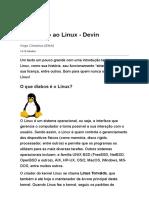 Introdução Ao Linux - Devin