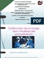Clasificacion de Cirugias