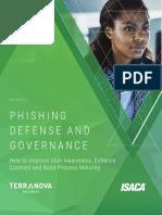 ISACA - Phishing Defense and Governance (English)