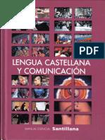 Manual Esencial Santillana - Lenguaje y Comunicación