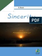Sincerity - Sheikh Muhammed Salih Al-Munajjid