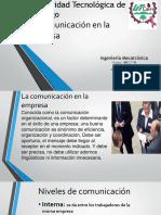 comunicacion de la empresa