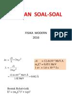 Latihan Soal-soal Bab 1-4 (Fismod)