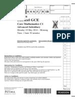 June 2014 (R) QP - C1 Edexcel.pdf