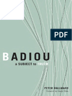 Badiou A subject to truth - Hallward.pdf