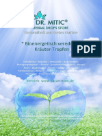 DR MITIC Herbal drops store Product catalog DEUTSCH 31.03.2019