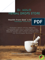 DR MITIC Herbal drops store Product catalog ENGLISH 31.03.2019